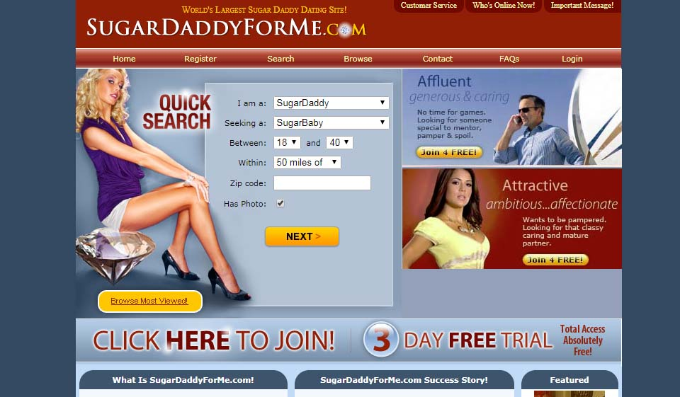 SugarDaddyForMe im Test 2021
