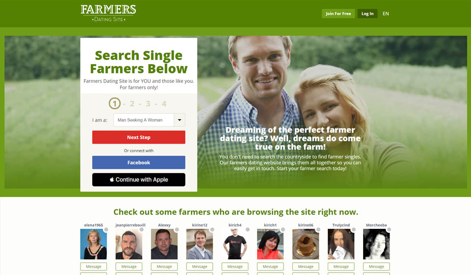 Farmers Dating Site Opinión 2021