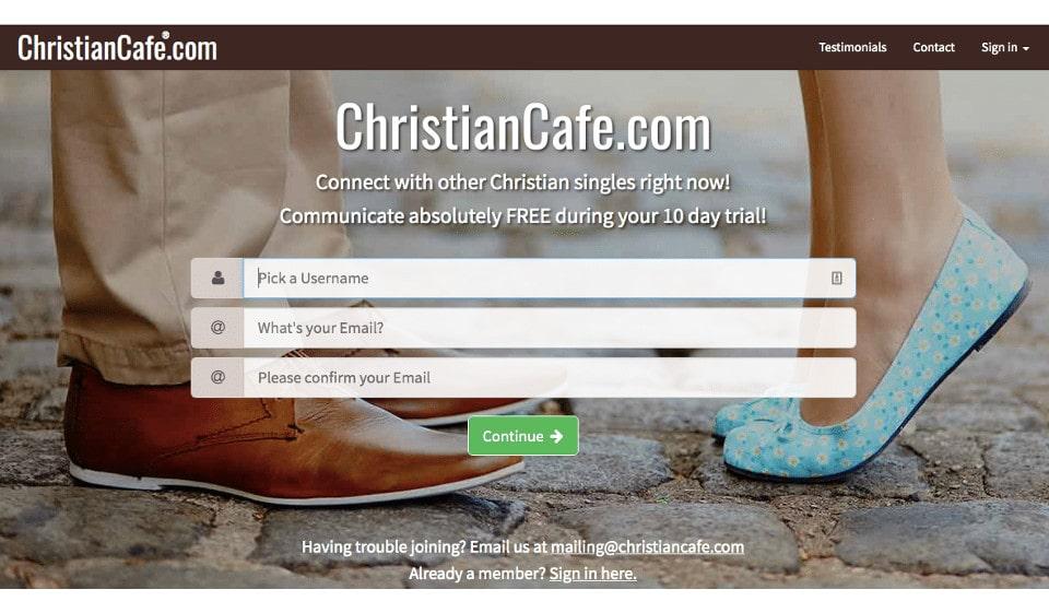 ChristianCafe.com Recensione 2021