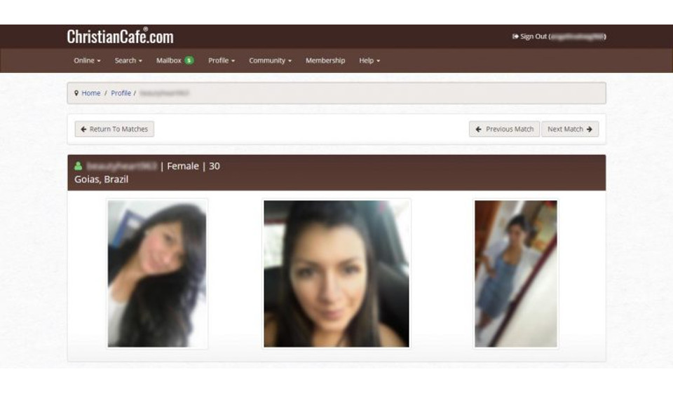 Christian dating site profile beispiele