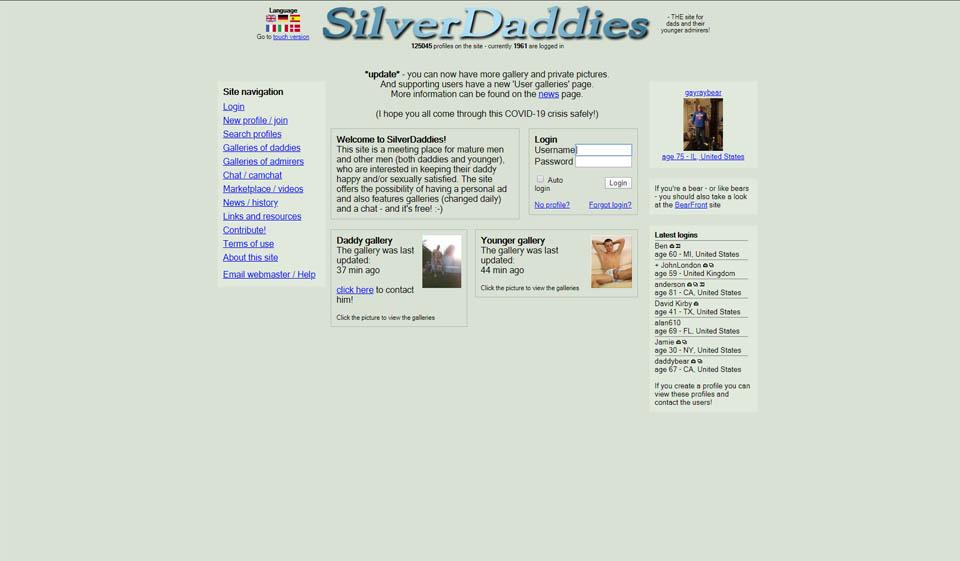 SilverDaddies Avis 2021