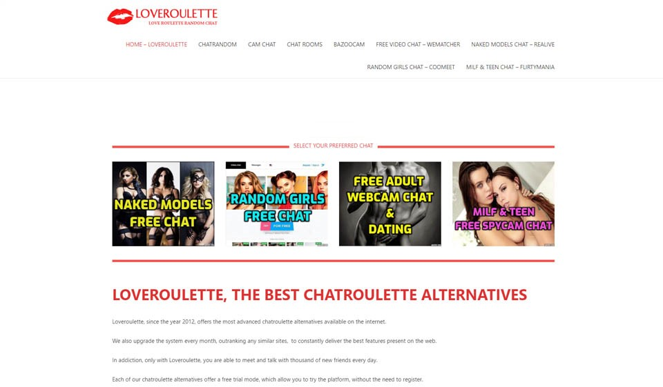 Loveroulette Review 2021 – Perfect or Scam?